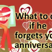 What To Do If He Forgets Your Anniversary?